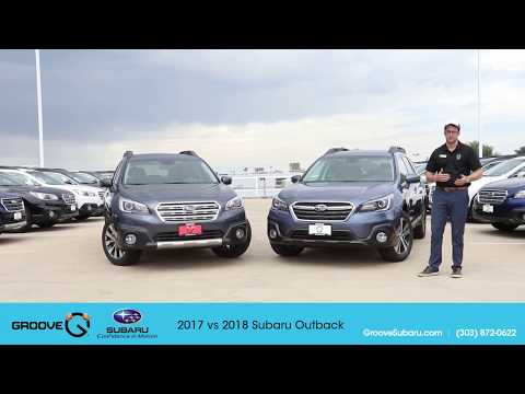 2017 Vs 2018 Subaru Outback: What's The Difference?