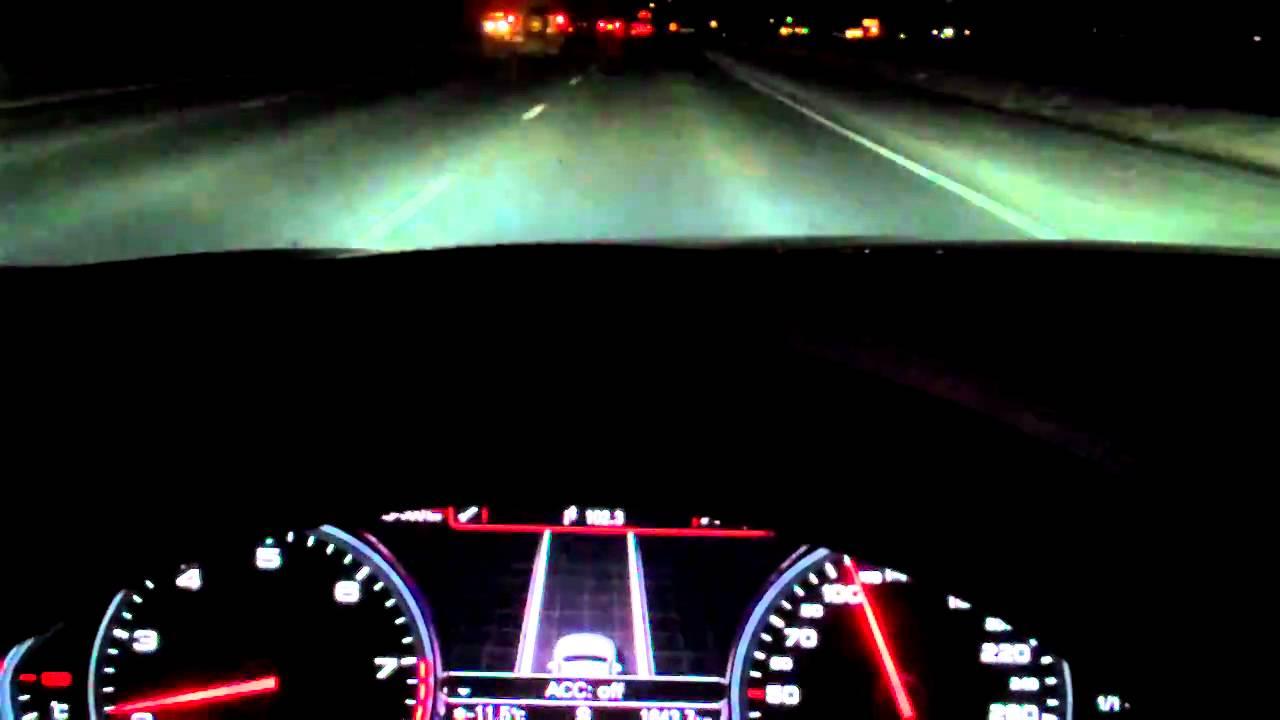 2012 Audi A6 A8 Audi Lane Assist Youtube