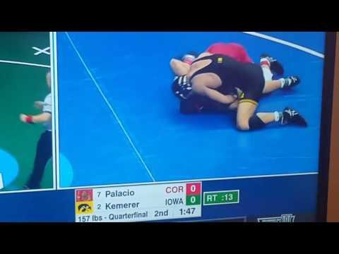 Wrestler's inspirational interview Dylan Palacio