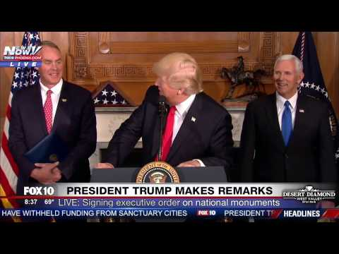 WATCH: President Trump Comments and JOKES About Maine Governor LePage's Weight (FNN)