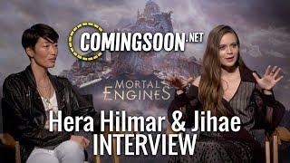 MORTAL ENGINES |  Hera Hilmar & Jihae Interview