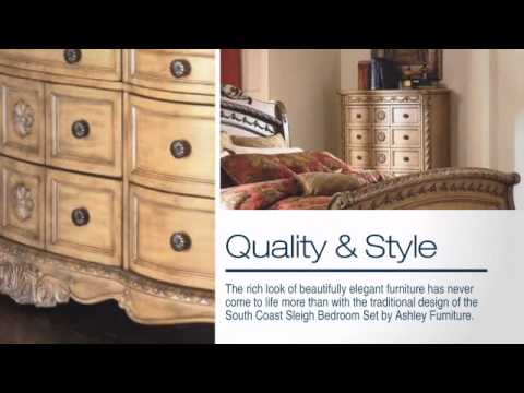 South Coast Sleigh Bedroom Set From Ashley Coleman Furniture Online