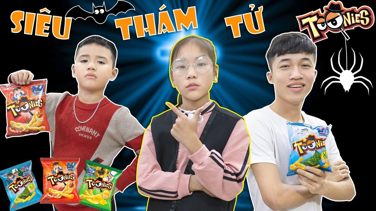 Siêu Thám Tử Nhí Thử Tài Phá Án Cùng Toonies ♥ Minh Khoa TV