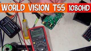 Ремонтуємо приймач T2 World Vision, не включається.