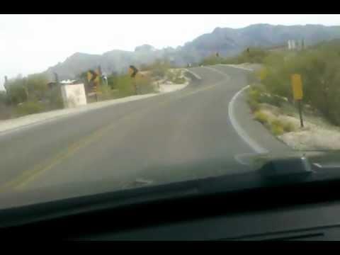 Roller Coaster Road Tucson Arizona in BMW 335i