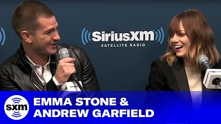 How Emma Stone & Andrew Garfield Spend Off-Time // Foxxhole // SiriusXM