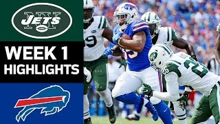 Jets vs. Bills | NFL Week 1 Game Highlights