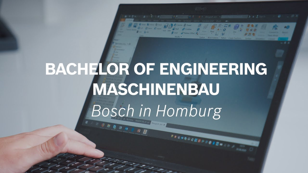 Duales Studium Bachelor of Engineering - Maschinenbau bei Bosch in Homburg