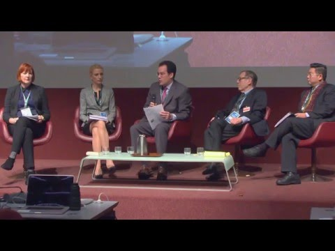 """Panel on the """"The Return of Authoritarianism"""" at the 2016 Geneva Summit"""