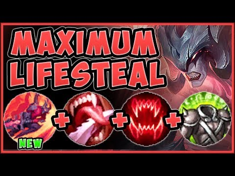 HOTFIX BUFFED ALREADY!? WHAT WAS RIOT THINKING!? NEW LIFESTEAL AATROX GAMEPLAY! - League of Legends
