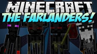 Minecraft | THE FARLANDERS! (NEW Endermen Race!) | Mod Showcase [1.5.1]
