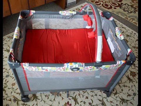 Graco Pack 'n Play On the Go Playard: Unbox, Assembly, and Review