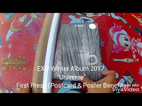 Unboxing EXO Winter Album 2017