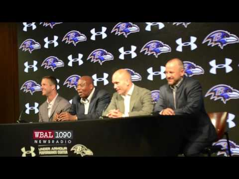 Ravens Ozzie Newsome talks about the 2nd and 3rd Rounds of the 2016 NFL Draft