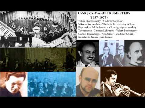 USSR JAZZ-VARIETY TRUMPETERS (1937-1975)– TRUMPET LEGENDS