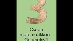 Osaan matematiikkaa - Geometrian muotoja
