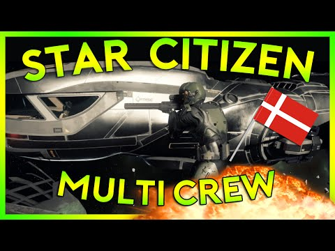 Star Citizen Alpha 2.3.1 | MULTICREW FREELANCER DENMARK | Part 106 (Star Citizen 2016 PC Gameplay)