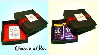 Chocolate Box DIY | how to make chocolate box | Tuber Tip