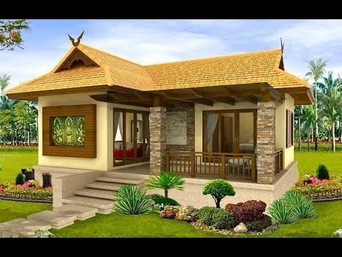 35 beautiful images of simple small house design youtube for Ome images