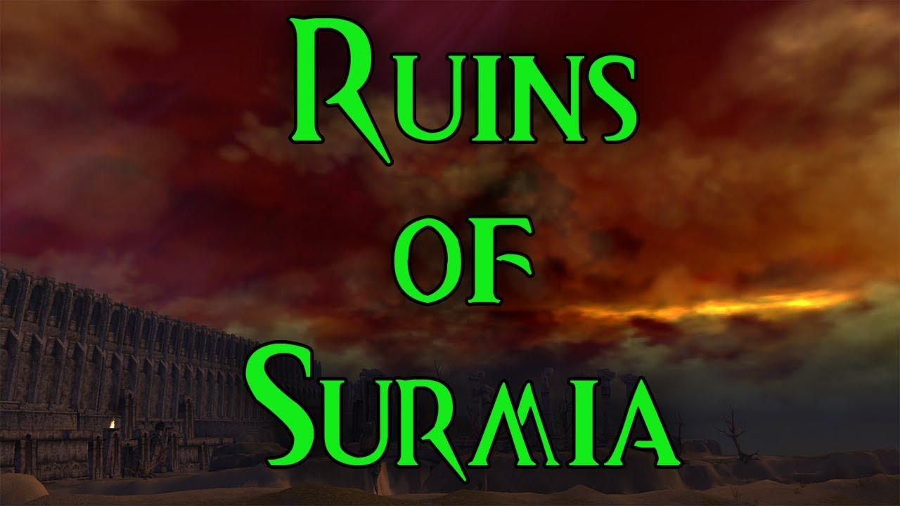 Guild Wars Hard Mode Mission Guides [Prophecies] #3 Ruins of Surmia [no cons]