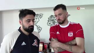 TRANSFER I Sivasspor'un yeni futbolcusu Claudemir kendisini tanıttı