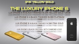 DELUXE EDITION  IPHONE 6-24K YELLOW GOLD
