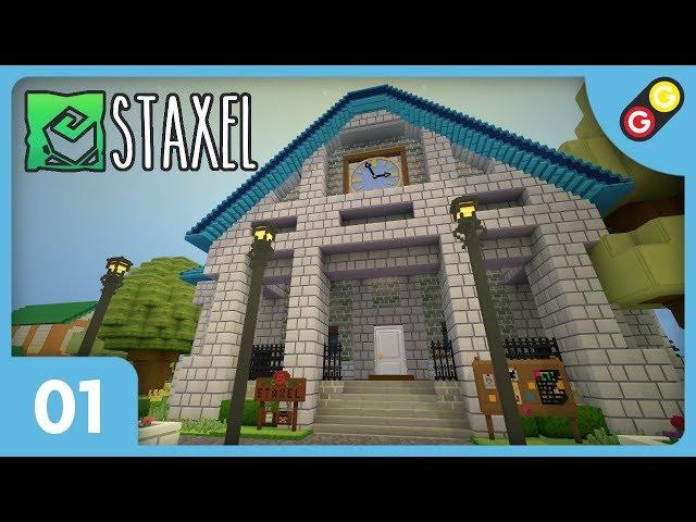 Staxel #01 On découvre le jeu ! [FR]