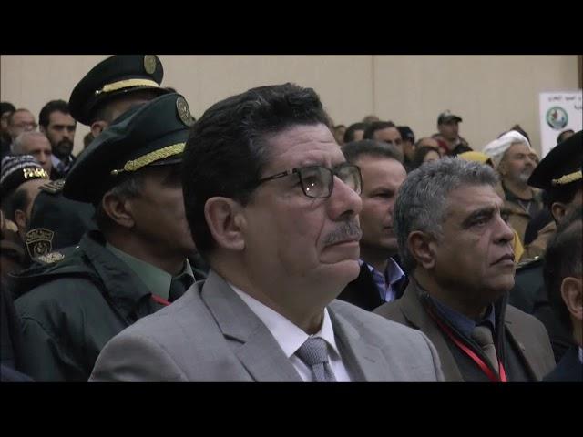 شريف عماري وزير الفلاحة يفتتح اشغال الورشة الوطنية حول السد الأخضر بولاية الجلفة