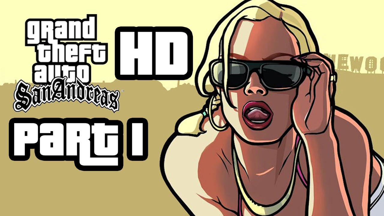 Gta San Andreas Wallpaper Hd Grand Theft Auto San Andreas Hd Walkthrough Part 1 Big