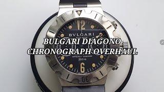 [명품시계수리] 불가리 디아고노 시계수리 오버홀 (bv…