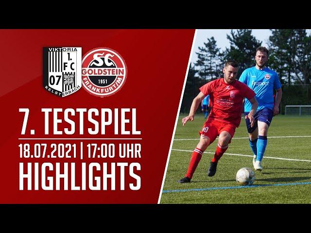 Viktoria Kelsterbach - SC Goldstein | 7. Testspiel | Highlights | 18.07.2021