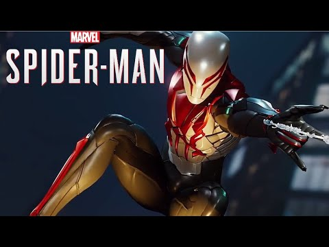 marvel s spider man ps4 spider man 2099 white suit gameplay youtube