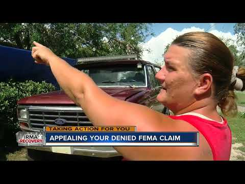 What to do when your FEMA application is denied