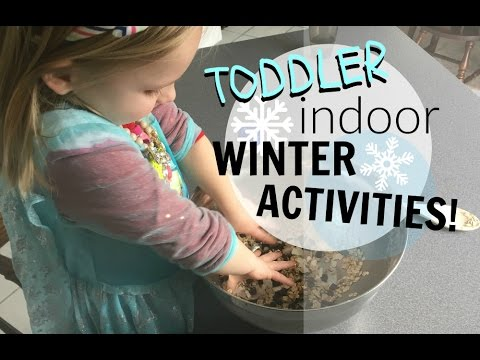 Winter crafts activities for toddlers