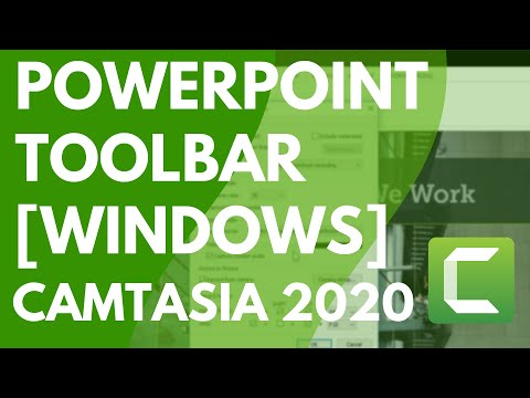 Camtasia 9: Thanh công cụ bổ trợ PowerPoint