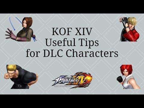 KOF XIV Useful Tips for DLC Characters