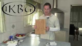 Bamboo Cutting Boards - How Best To Treat Them