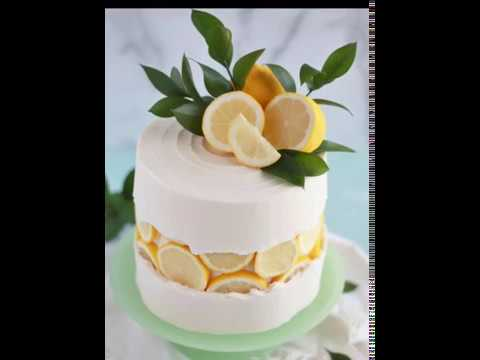 Baking With Blondie - Lemon Slice Fault Line Cake