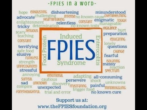 What Is Fpies Food Protein Induced Enterocolitis Syndrome Youtube