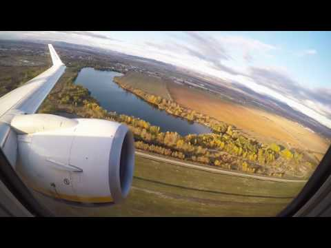 Boeing 737-800 TAKE OFF from Sofia airport