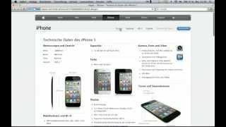 iPhone 5 Website Leaked