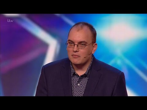 Nicholas Bryant - Britain's Got Talent 2016 Audition week 1