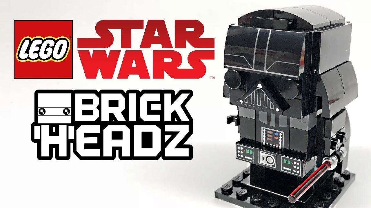 LEGO Star Wars Darth Vader BrickHeadz review! 2018 set ...