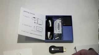 Chromecast Installation Unboxing Setup Erfahrungsbericht Hands On Review