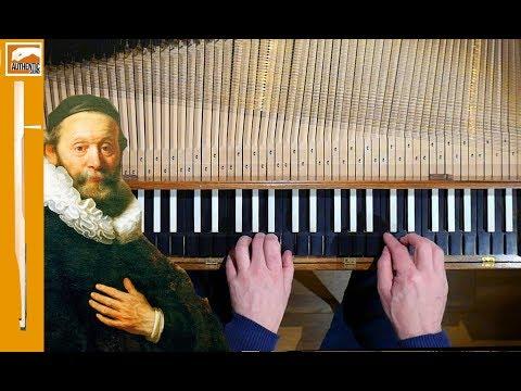 S.Scheidt, Variations on a Gagliarda by John Dowland- Wim Winters, clavichord