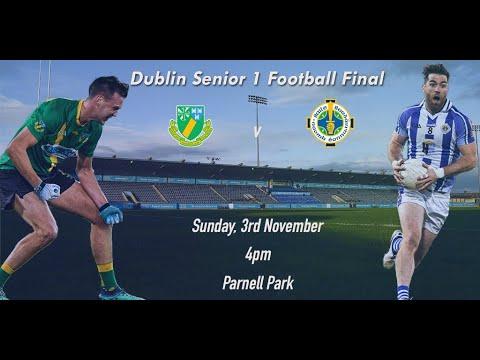 2019 Dublin Senior 1 Football Final- Ballyboden St Endas v Thomas Davis
