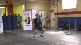 Nashville Predator - Richard Clune C+J 157kg @100kg bw