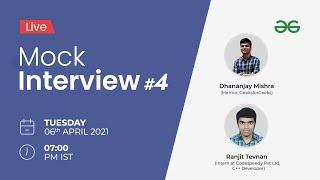 Live Mock Interview | Important Algorithms \u0026 Gray Matter