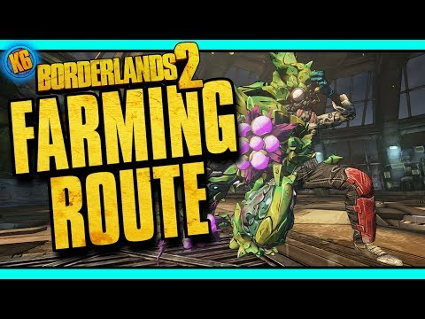 CASSIUS FARMING ROUTE! - Mt. Scarab - New DLC [Borderlands 2]
