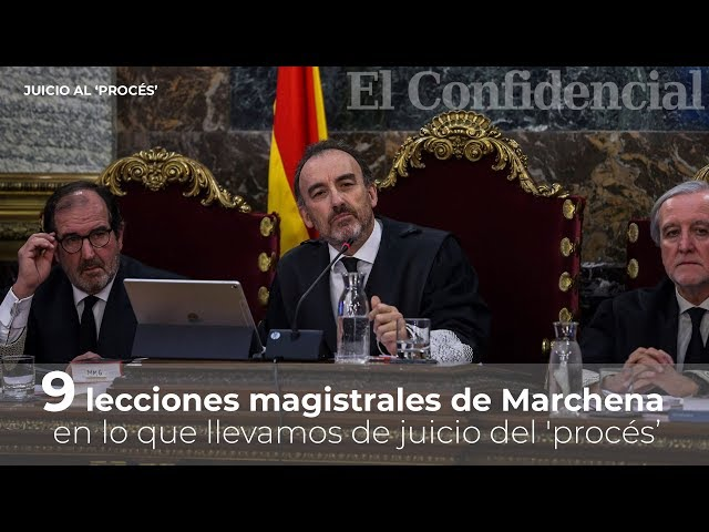 9 lecciones magistrales de Marchena en el juicio del procés